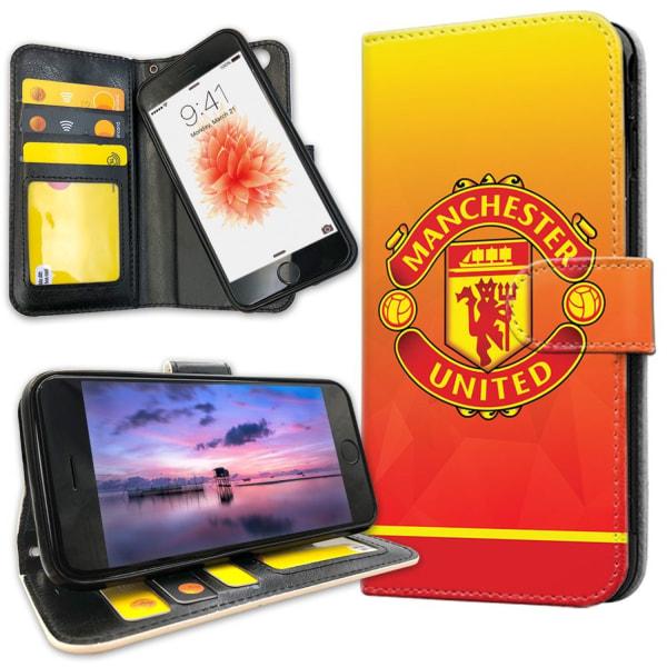 iPhone 8 - Plånboksfodral Manchester United