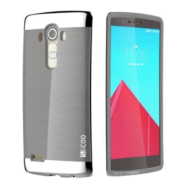 LG G4 - Slicoo TPU Skal / Mobilskal Silver silver