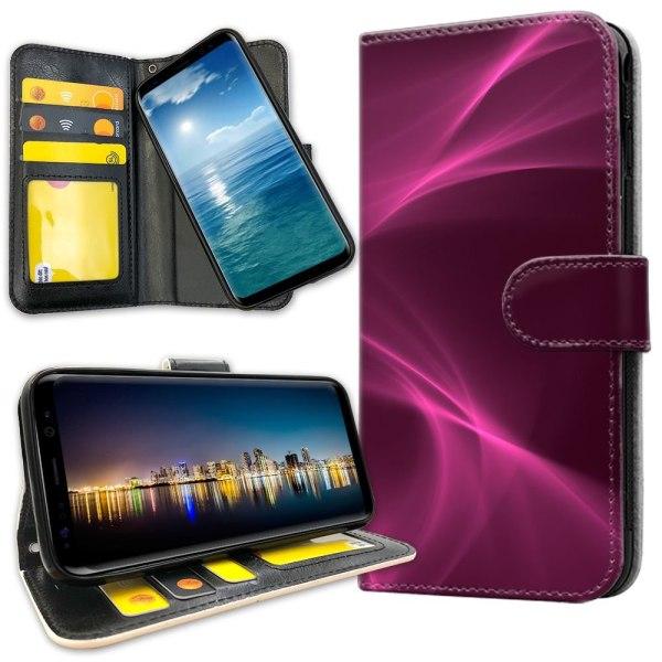 OnePlus 5 - Plånboksfodral Purple Fog
