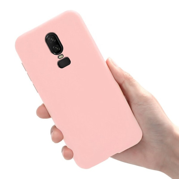 OnePlus 6 - Skal / Mobilskal Lätt & Tunt - Ljusrosa Ljusrosa