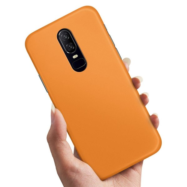 OnePlus 6 - Skal / Mobilskal Orange