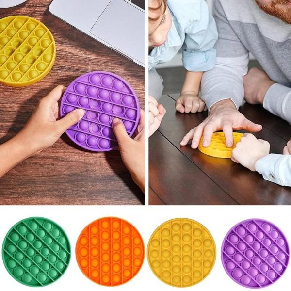 Pop It Fidget Leksak / Sensory Toys - Välj modell & färg Purple Fyrkant - Lila