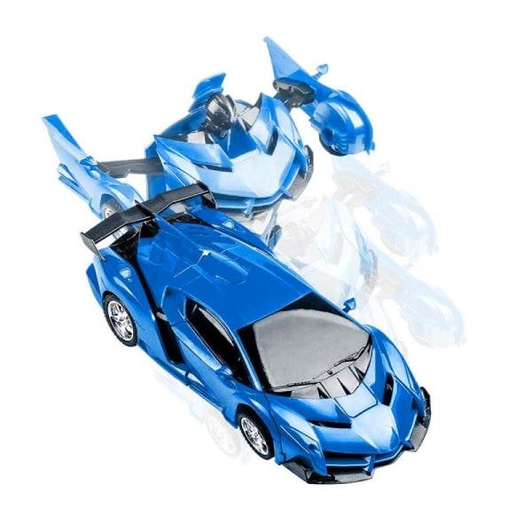 Radiostyrd Bil / Transformer - Blå
