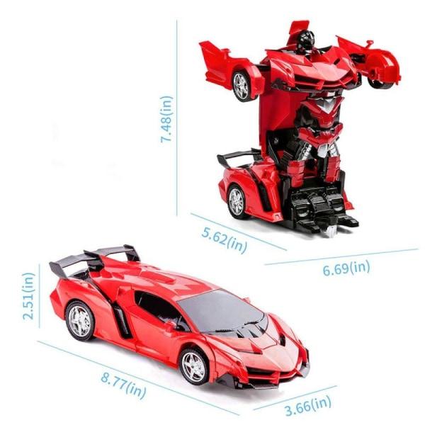 Radiostyrd Bil / Transformer - Röd