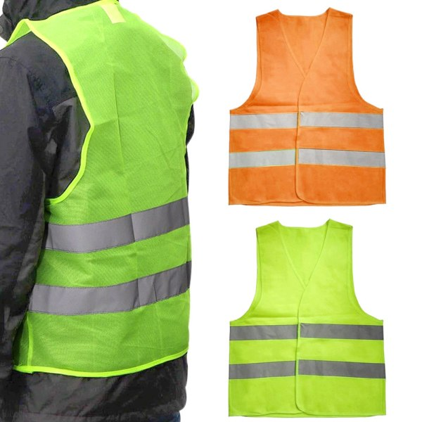 Reflexväst för Vuxna & Barn / Reflex - Flera färger Barn - Orange