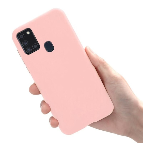 Samsung Galaxy A21s - Skal / Mobilskal Lätt & Tunt - Ljusrosa Ljusrosa