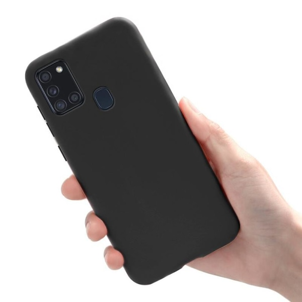 Samsung Galaxy A21s - Skal / Mobilskal Lätt & Tunt - Svart Svart