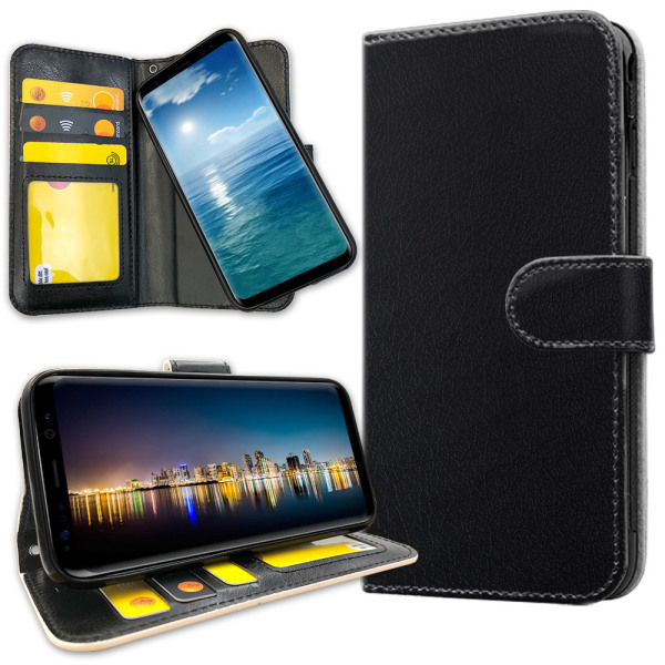 Samsung Galaxy A50 - Plånboksfodral Svart