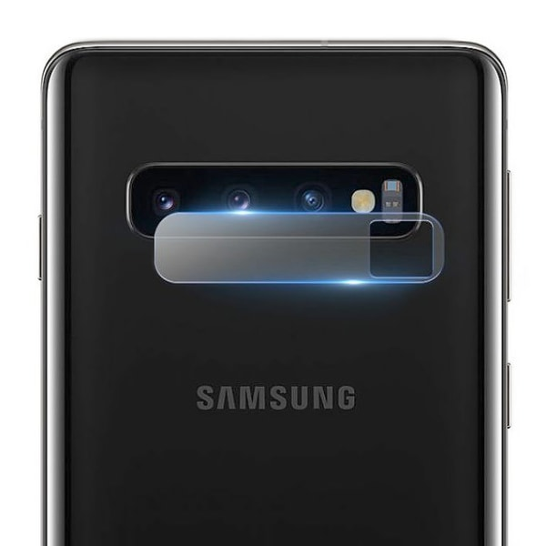 Samsung Galaxy S10 - Skärmskydd Kamera / Skyddsglas - Härdat