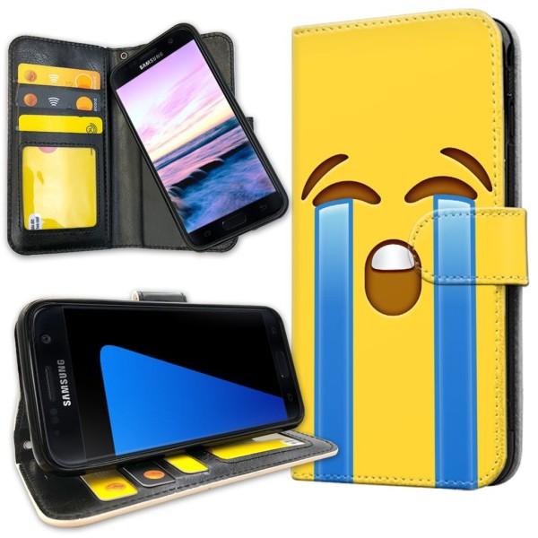 Samsung Galaxy S5 - Plånboksfodral Emoji / Smiley