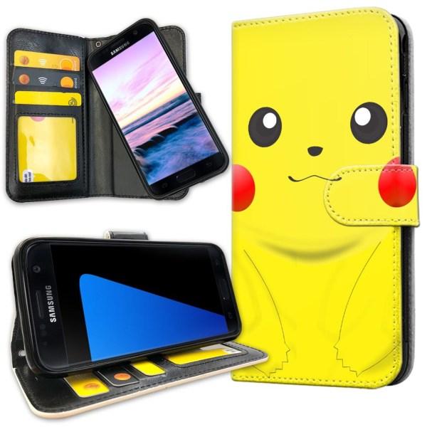 Samsung Galaxy S5 - Plånboksfodral Pikachu / Pokemon