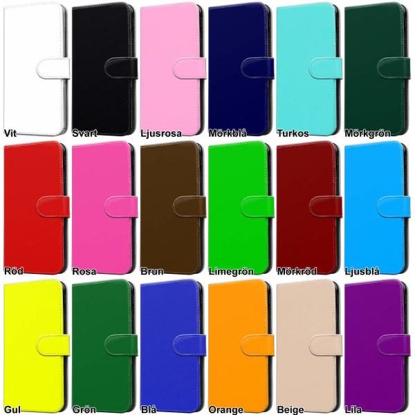 Samsung Galaxy S5 - Plånboksfodral / Skal med Magnet Svart
