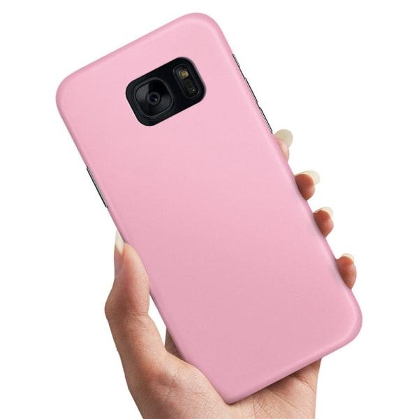 Samsung Galaxy S7 - Skal / Mobilskal Ljusrosa Ljusrosa