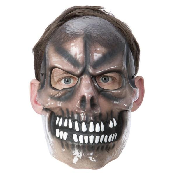 Skeleton / Skelett Vacu Mask - Halloween & Maskerad