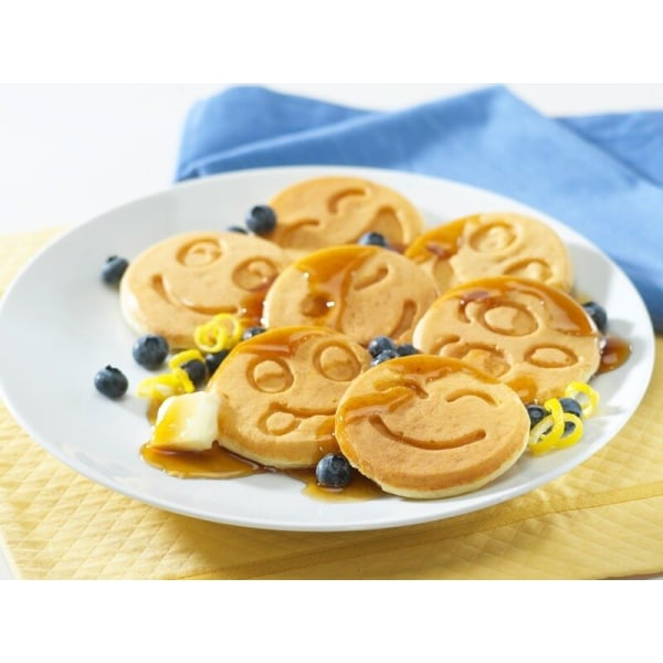 Stekpanna Smiley - För Plättar - Ägg - Pannkakspanna