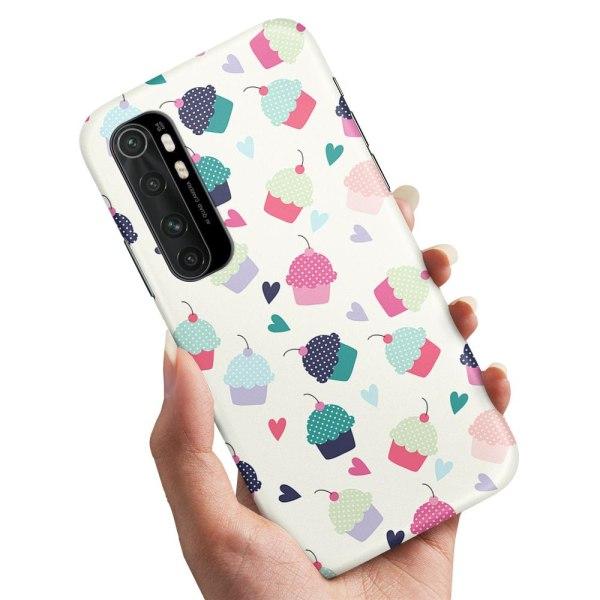 Xiaomi Mi Note 10 Lite - Skal / Mobilskal Cupcakes