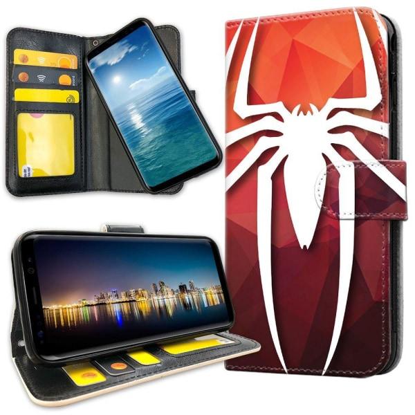 Xiaomi Mi Note 10 - Plånboksfodral Spider-Man Symbol