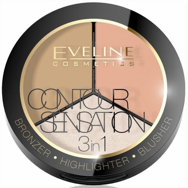 Contour Sensation 3in1 Set 02 Peach Beige