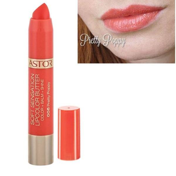 Astor Soft Sensation LipColor Butter  - 005 Pretty Poppy