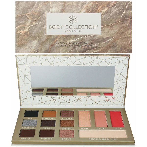 Body Collection VEGAN Suitable Complete Face Large Palette - Smo