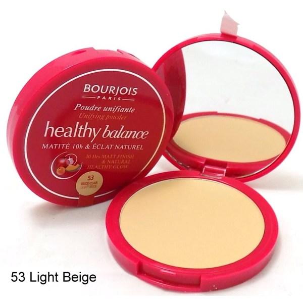 Bourjois Healthy Balance Matte 10H Powder - 53 Beige Clair