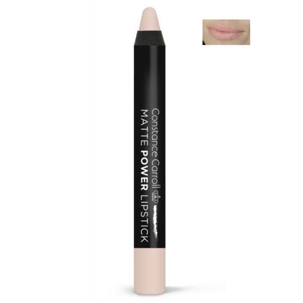Constance Carroll Matte Power Lipstick Pencil - 08 Apricot Nude