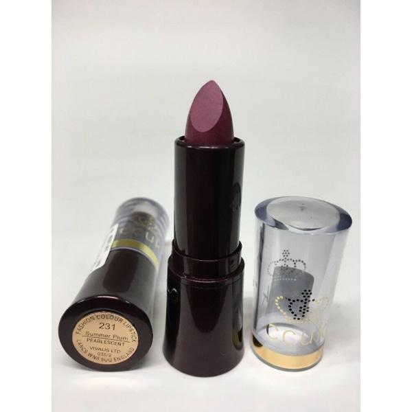 Constance Carroll UK Fashion Colour Lipstick - 231 Summer Plum