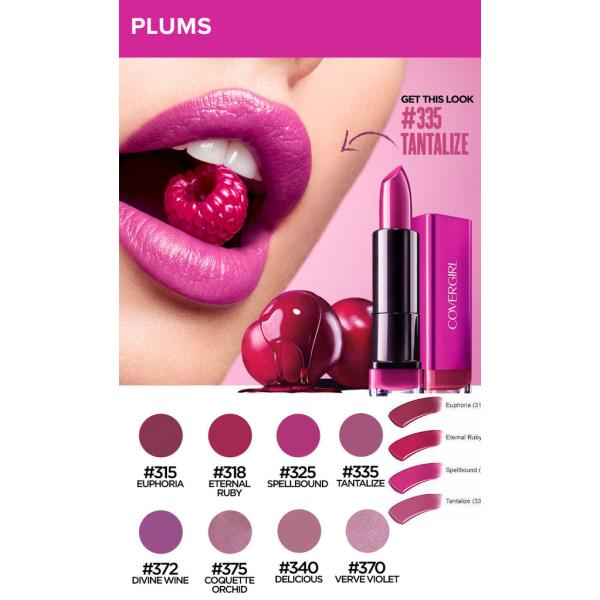 Covergirl Colorlicious Lipstick - 335 Tantalize