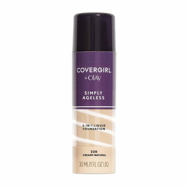Covergirl Simply Ageless 3-in-1 Liquid Foundation-Creamy Natural