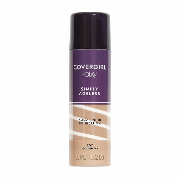 Covergirl Simply Ageless 3-in-1 Liquid Foundation - 257 Golden T