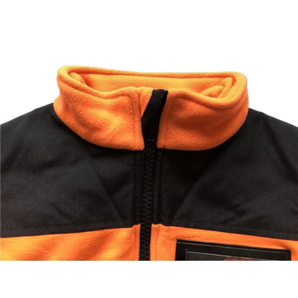 Fleecejacka med Loxy-reflex Orange 150