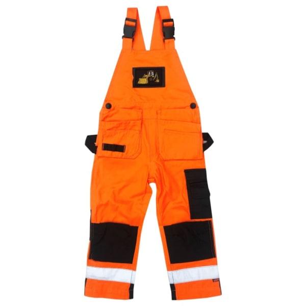 Hängselbyxa med Loxy-reflex Orange 130