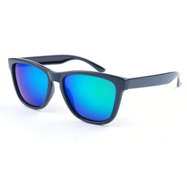 Solglasögon Barn Wayfarer | Grön Spegel Smoke