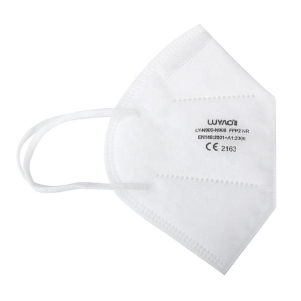 20x Andningsmask FFP2 NR - CE Vit