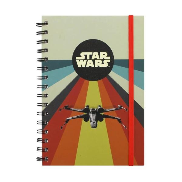 A5 Anteckningsbok - Star Wars multifärg