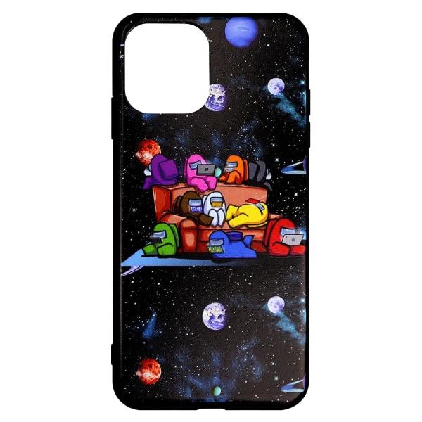 Among Us, iPhone 12 Mini Mobilskal - Nr. 4 multifärg