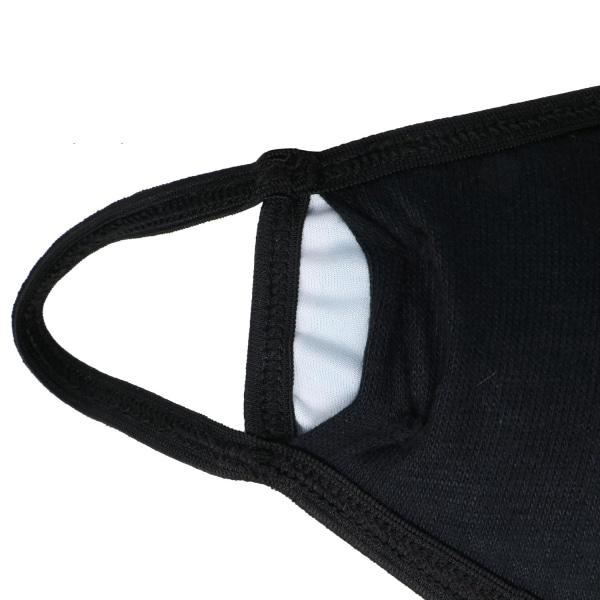Andningsmask med 3 Lager - Katt Svart