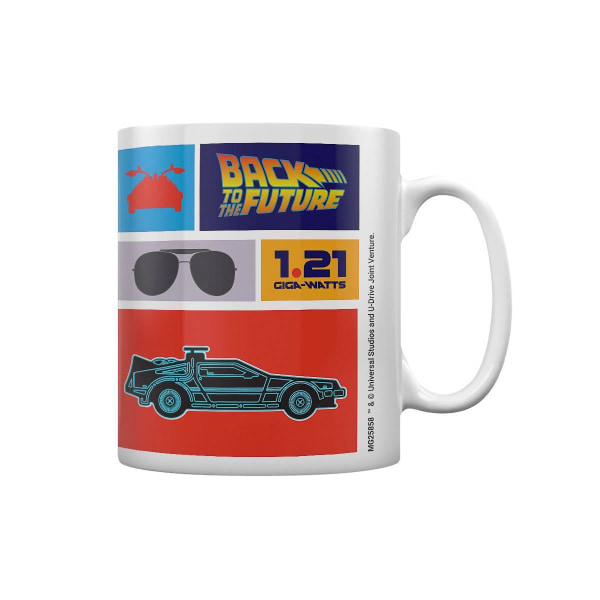 Back to the Future, Mugg - Collection Multifärg