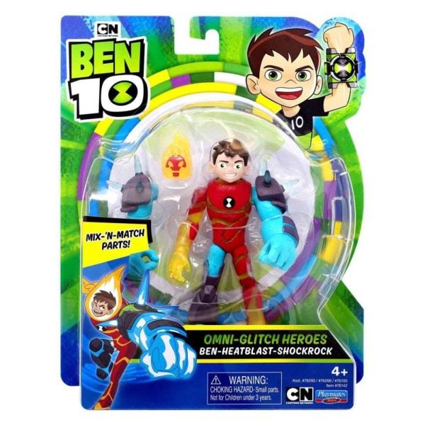 Ben 10, Actionfigur - Omni-Glitch Heroes, Nr. 2 Multifärg