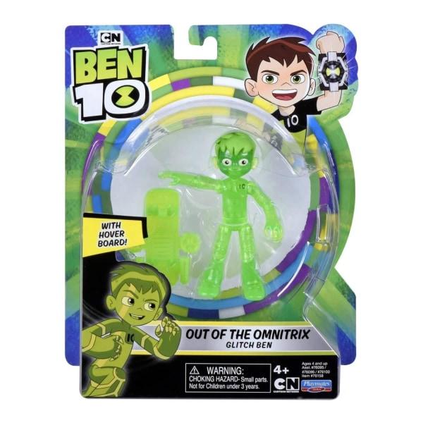 Ben 10, Actionfigur - Out of the Omnitrix Glitch Ben Multifärg