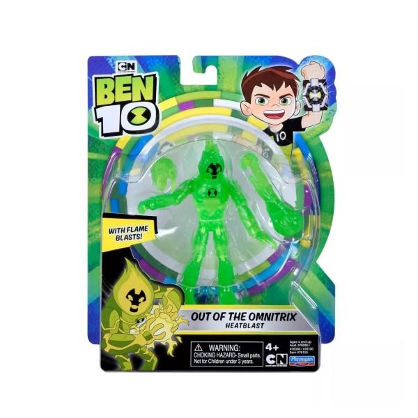 Ben 10, Actionfigur - Out of the Omnitrix Heatblast Multifärg