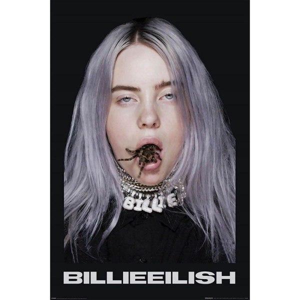 Billie Eilish, Maxi Poster - Spider multifärg