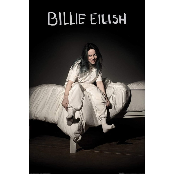 Billie Eilish, Maxi Poster - When we all fall asleep Multifärg