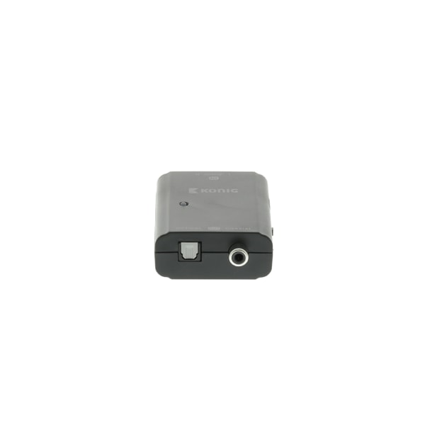 Digital Audio Converter - RCA - TosLink - SPDIF Svart