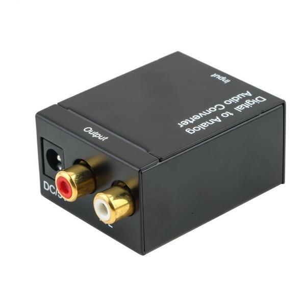 Digitalt till Analogt Audio Konverterare Svart