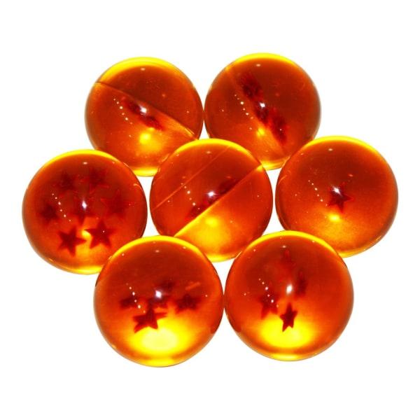 Dragon Ball Z - 7 Dragon balls Orange
