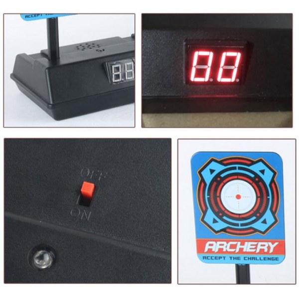 Elektroniska Måltavlor för Leksaksvapen Svart