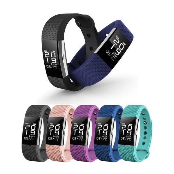 F2 Cubes Fitness Tracker - Träningsarmband Svart