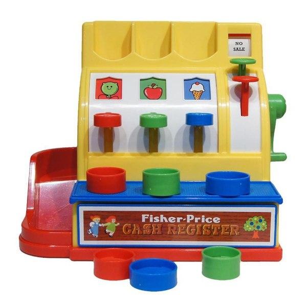 Fisher-Price - Klassisk Leksaks-Kassaapparat Multifärg
