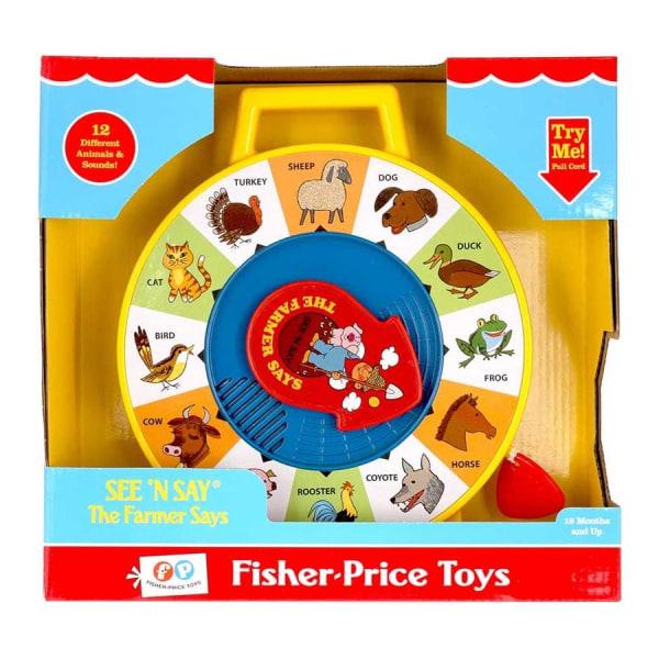 Fisher-Price, Leksak med Djurljud - See n Say Multifärg